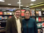 At Galleria Barnes & Noble with Bone Shadows contest winner Rosanne George