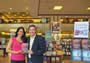 With actress Kalpana Pandit at Foothills Mall B&N, Tucson, AZ