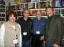 With authors Sharon Hendry, Bruce Rubenstein, Gary Bush