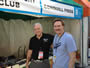 With author Joe Corso at the Miami Book Festival